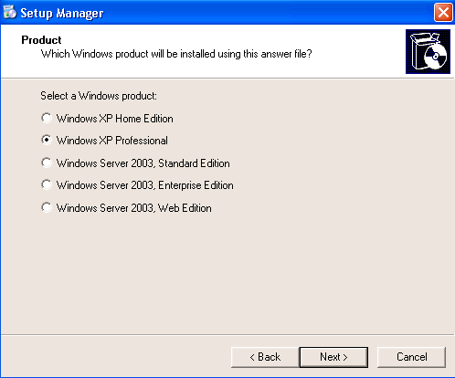 Sysprep - Windows XP Professional