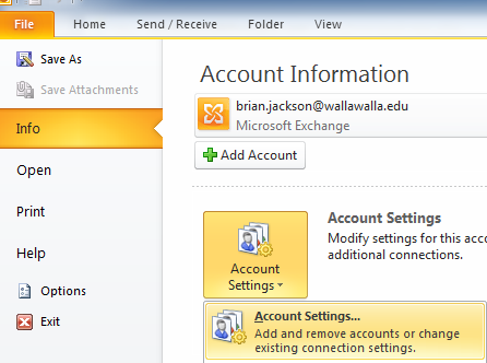 Microsoft Outlook Step 2