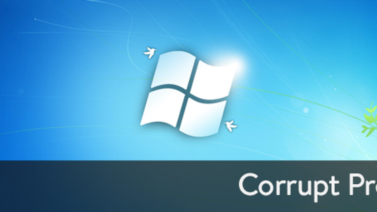 How to Fix Corrupt Windows 7 Profile - Logged in as
