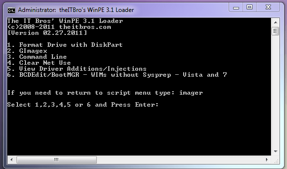 WinPE3.1 Contents x86