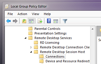 Windows Server 2008 Remote Desktop Session Host - RDP Sessions