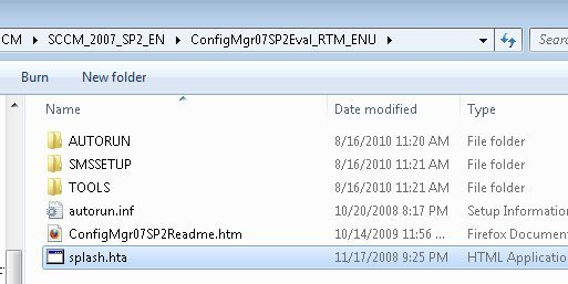 install configmgr console for sccm