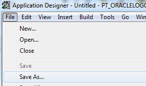 App Designer backup image