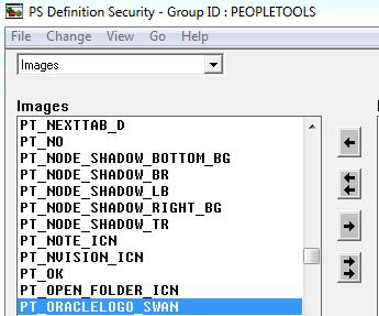 Group ID PeopleTools