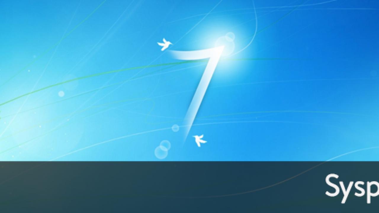 Sysprep a Windows 7 Machine – Start to Finish V2