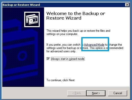 backup-advanced-mode