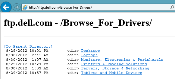 dell-ftp-site