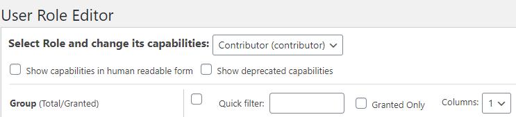 wordpress contributors