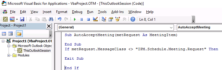automatically accept meeting requests in outlook
