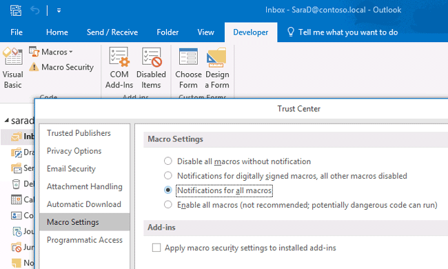 automatically accept meetings in outlook