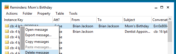 how to turn off auto delete in outlook
