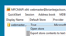 mfcmapi-open-store