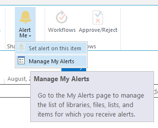 sharepoint-online-manage-my-alerts
