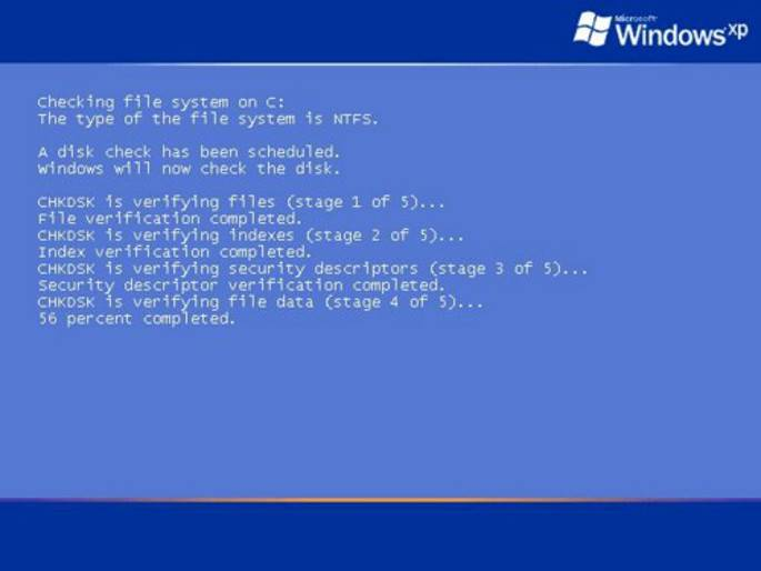 Windows detected a hard disk error