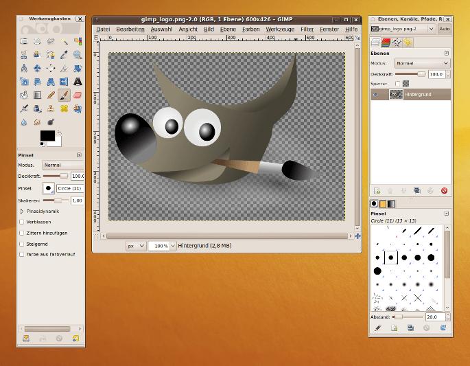 Best Linux apps - Gimp