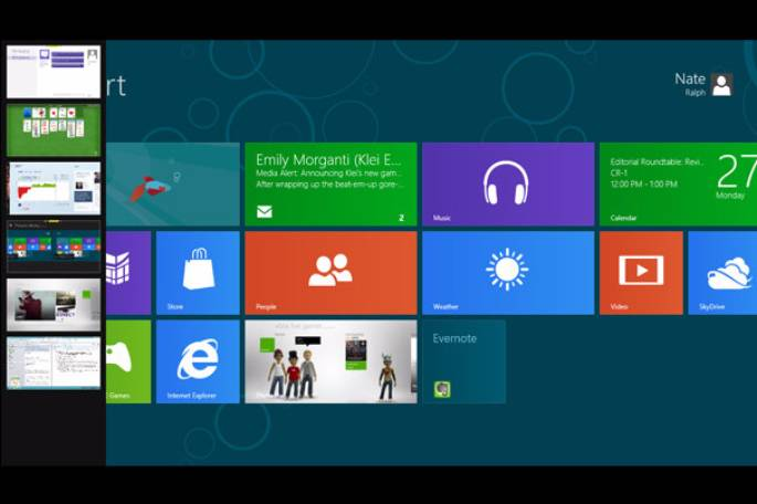 windows 8 multi tasking