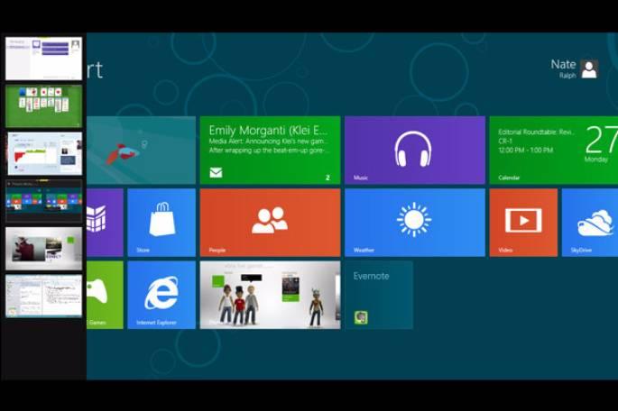 windows 8 multi tasking
