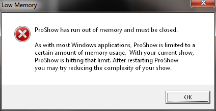 out-of-memory