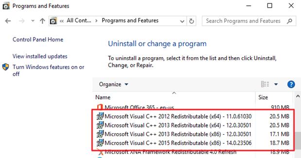 Battlefield DirectX error visual library