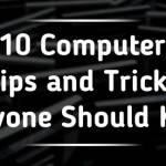 10 computer tips фтв tricks