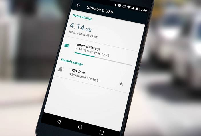 android m adoptable storage