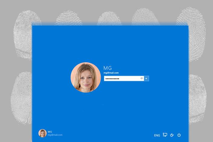 Windows 10 fingerprint login