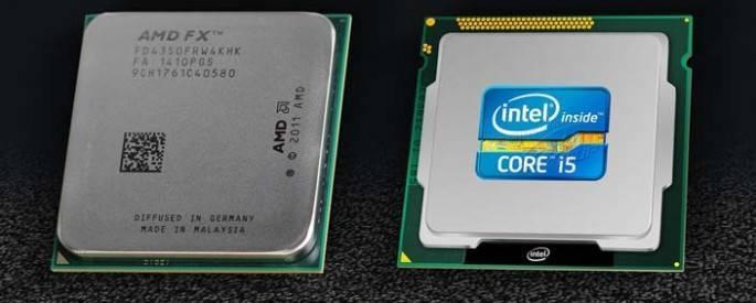amd and intel processors