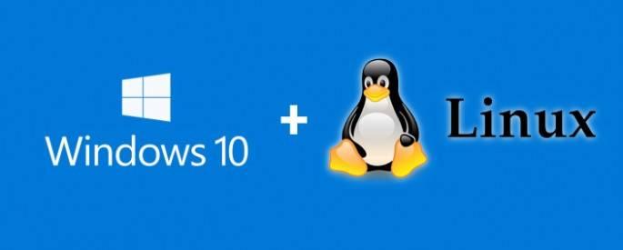 dual boot linux windows 10