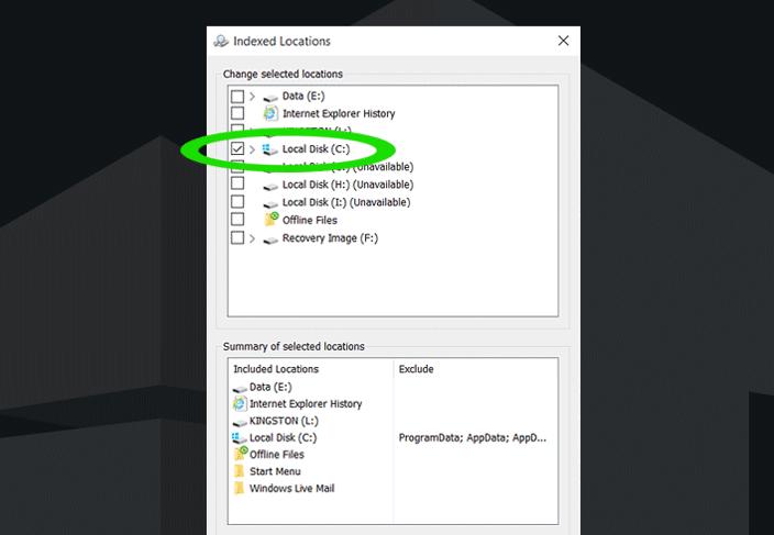 windows search filter host high cpu
