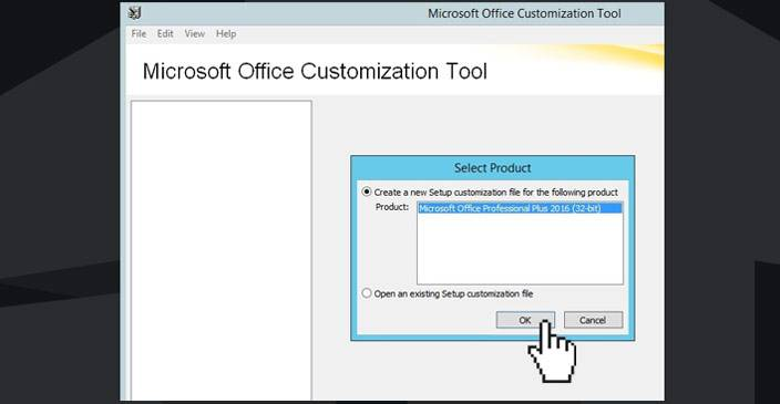 office 2016 customization tool