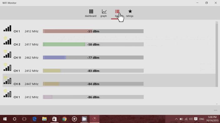 wifi monitor app list