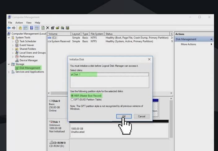 windows 10 disk management