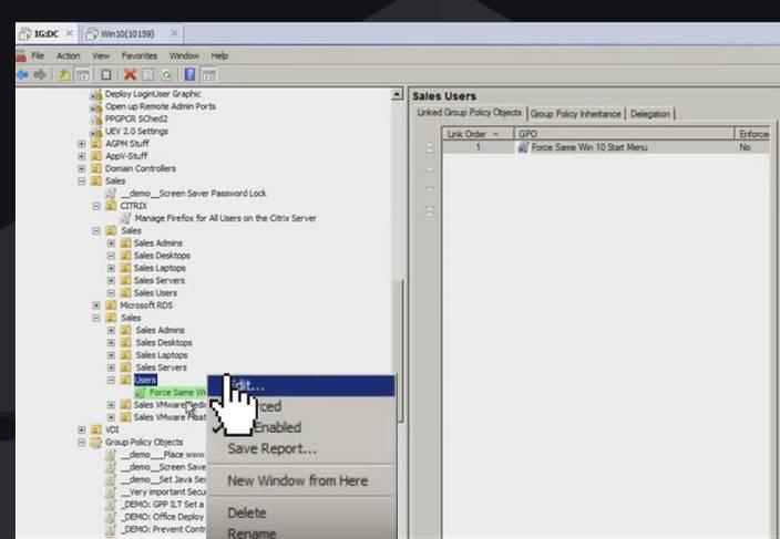 windows 10 edit GPO