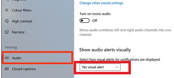 flashing screen windows 10