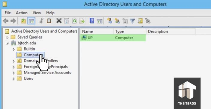 active directory computers