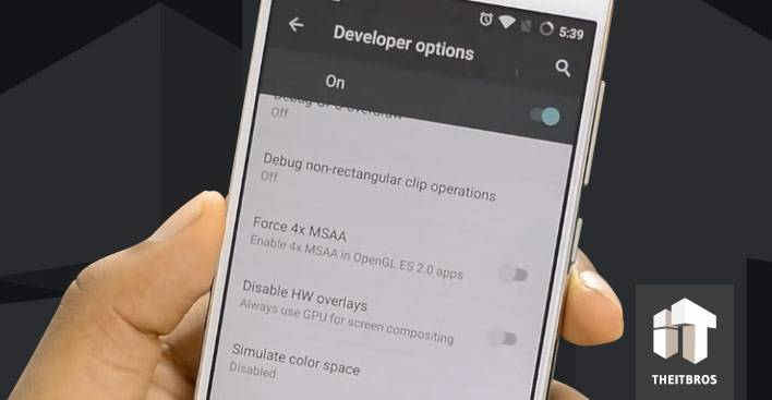 android force 4x MSAA