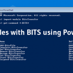 copy BITS powershell