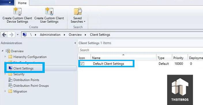 system configuration manager 2012