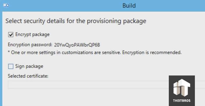 windows 10 ICD encrypt
