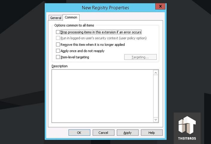 gpo registry settings