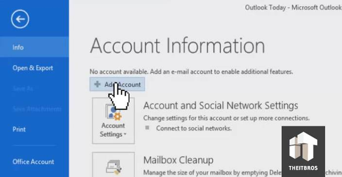 Outlook cannot connect to Gmail