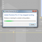 adobe premier 2015 topped working