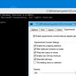 cmd customize windows 10