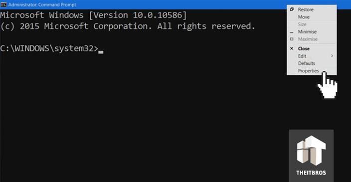 command promt customization