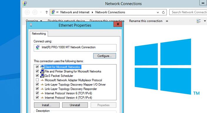 static IP adress windows 10