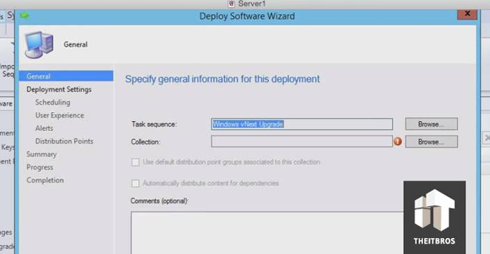 windows deploy wizard