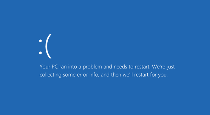 your pc ran into problem