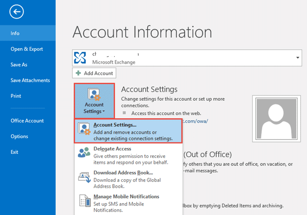 configure gmail with outlook account