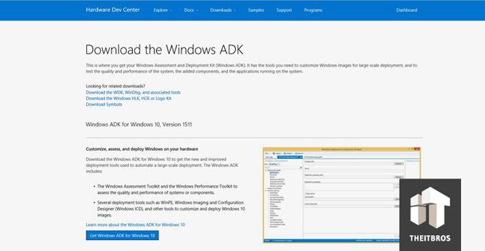 windows 10 adk download
