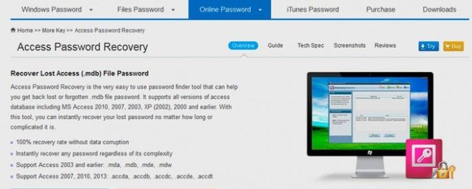 access password smart key